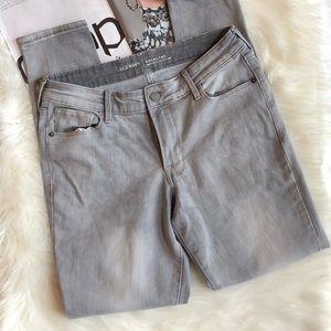 Old Navy Gray Rockstar Skinny Jeans 8